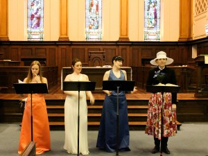 Katie Cross (Barbarina), Maureen Batt, Erin Bardua, Shannon Coates
