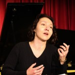 Margaret Bardos (Cherubin) in rehearsal [Stirling Photography]